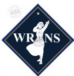 Metal car hangers -WRENS VINTAGE